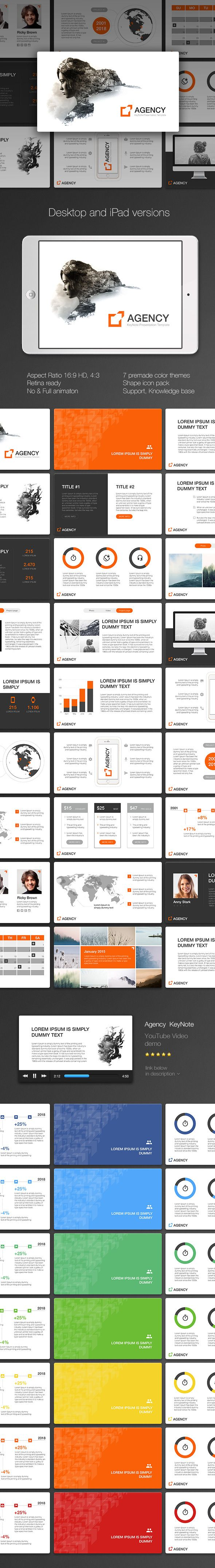 Agency KeyNote Template #slides Download here: http://graphicriver.net/item/agency-keynote/14577819?ref=ksioks