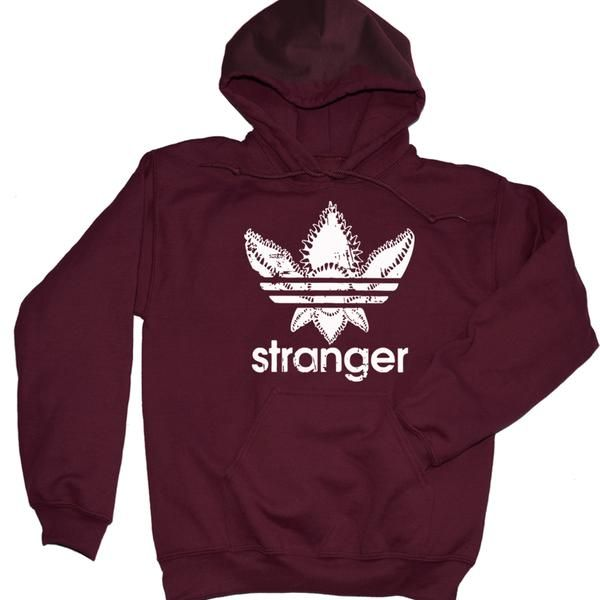 Stranger Things Adidas Demogorogon Pullover Hoodie. Colors