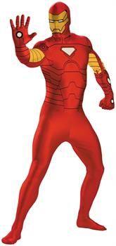 CostumePub.com - Boy's Iron Man Bodysuit Costume