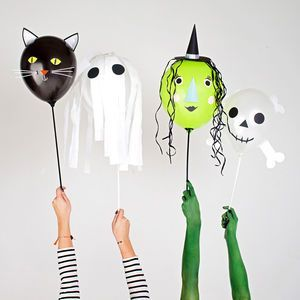 Halloween Character Balloon Kit | From trick or treating and pumpkin carving, to watching scary movies and having a party, there's so much you can enjoy on the spookiest night of the year. Time to get Halloween-ready.
