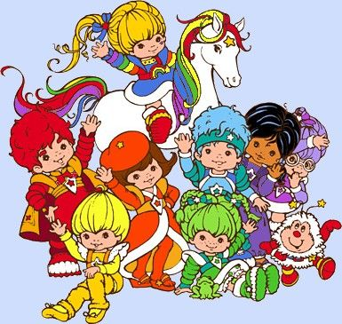 My sister even named our pet after a character from Rainbow Brite