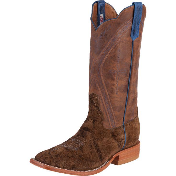 Men's Rios Of Mercedes Tan Hippo Cowboy Boots Item # 1064N
