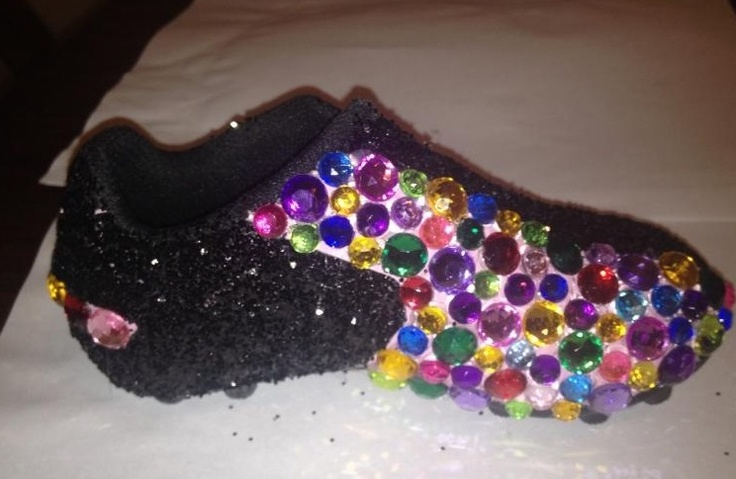 Glam toddler soccer cleats