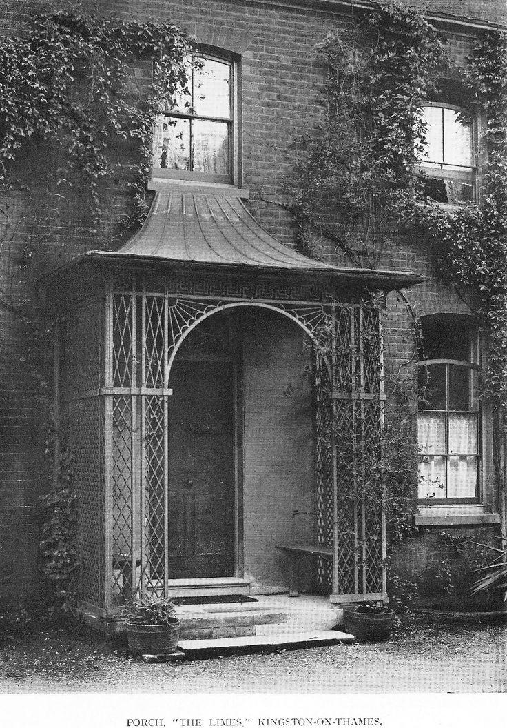 Late Georgian porch -- England