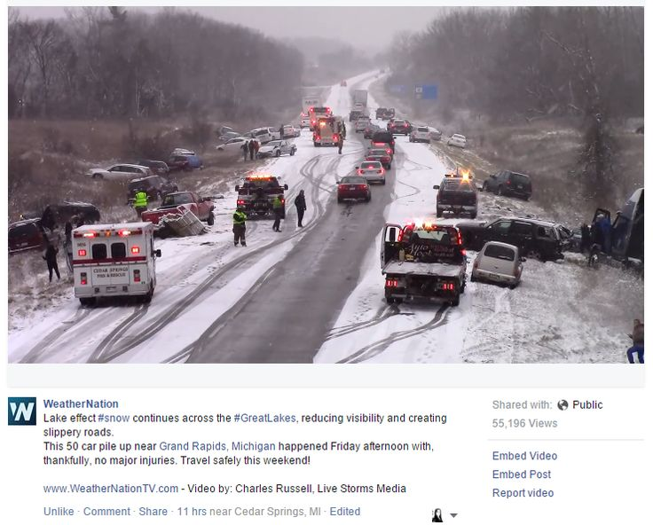 US 131 Crash - WeatherNation - 12/19/15