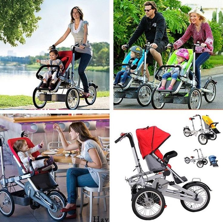 2 in 1 Mom & Baby Parents Child TwoWay Bicycle Baby Seat