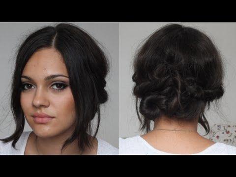 Vier-Handgriffe Frisur