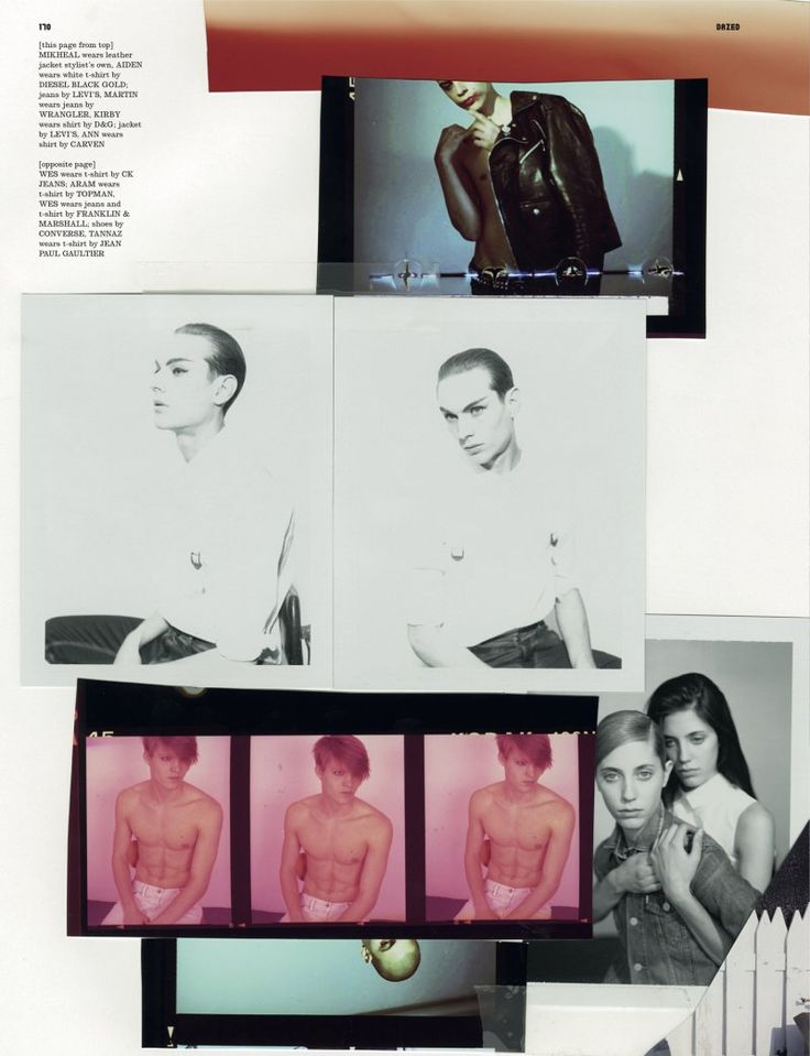 I could seriously pin all of Schorr's work- From Dazed & Confused June 2010   Touched by Youth by Collier Schorr.