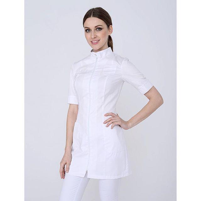 Удлиненная блуза 1.46 #медицинская #одежда #медодежда