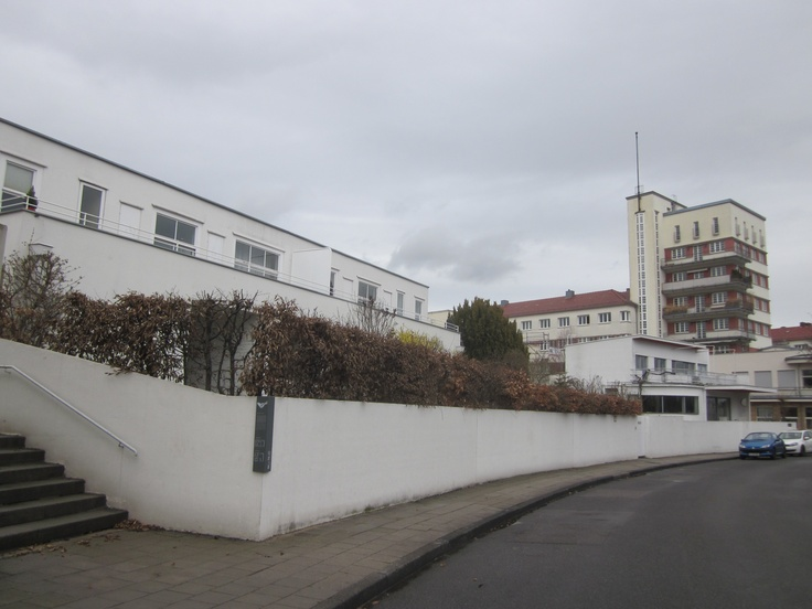 17 best images about bauhaus the weissenhof estate for Stuttgart architecture