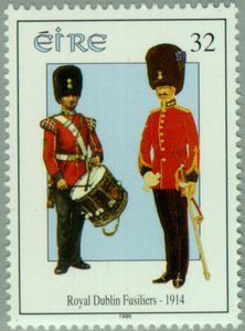 1995 Irlanda-Uniforme de Fusileros Reales de Dublin de 1914