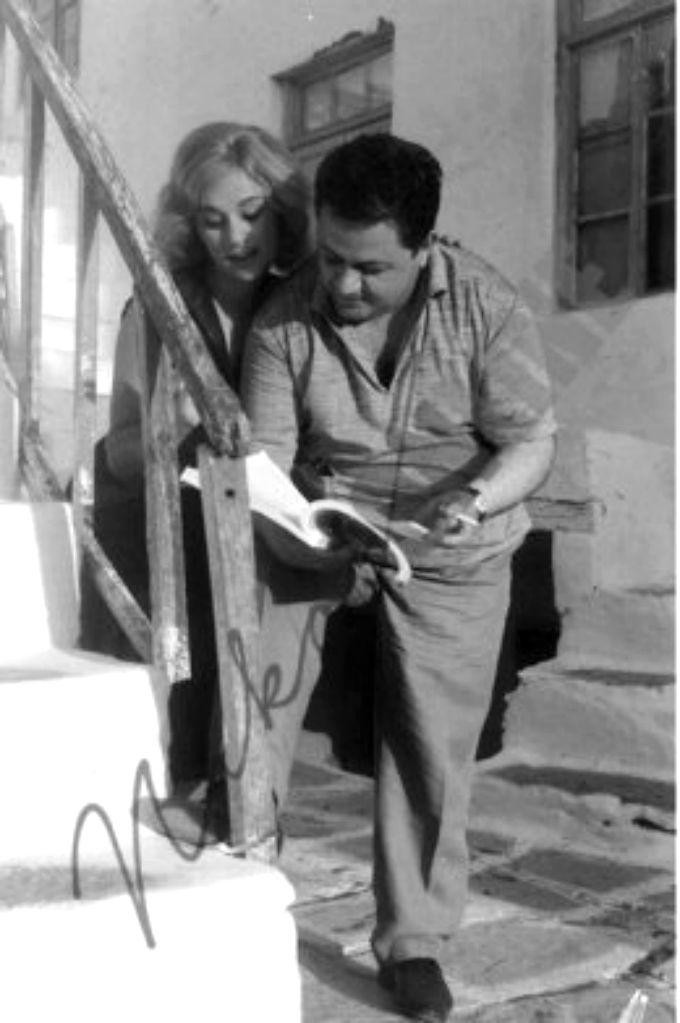Aliki Vougiouklaki & Manos Chatzidakis