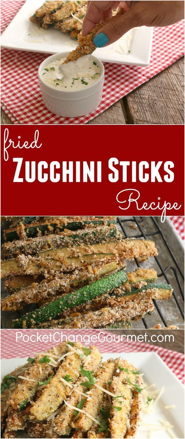 Easy fried zucchini recipe bread crumbs