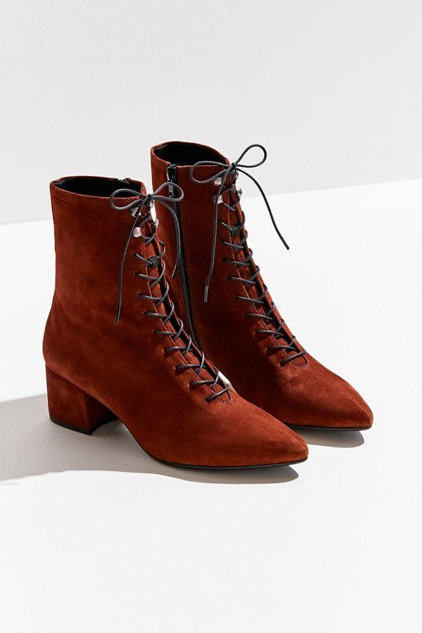 vagabond boots lace up