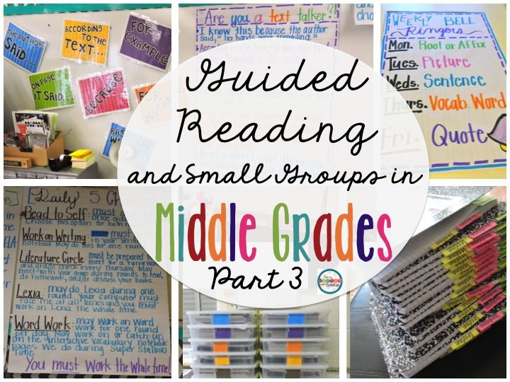 The Hungry Teacher: Guided Reading and Small Groups in Middle School PART III: Lessons and Novel Units