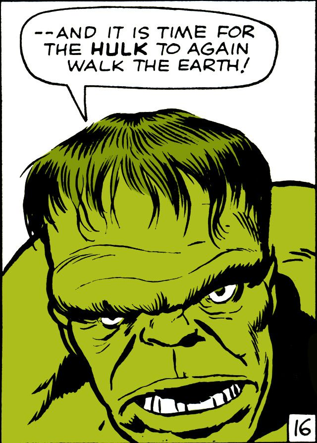 """Fantastic Four #12 - March, 1963 """"The Incredible Hulk"""