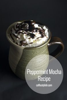 Peppermint Mocha Recipe {simple & delicious} // Coffee Drinks