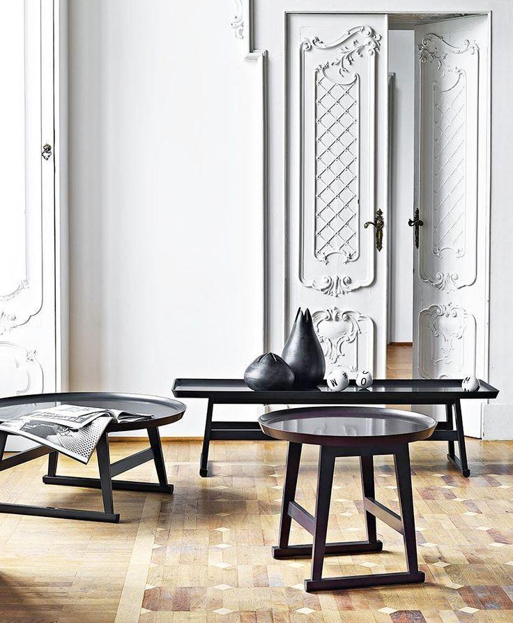 "130 Me gusta, 5 comentarios - MAXALTO (@maxaltola) en Instagram: ""The RECIPIO small tables in a hand-brushed shellac finish! Chic additions to your home ✨🎆 #maxalto…"""