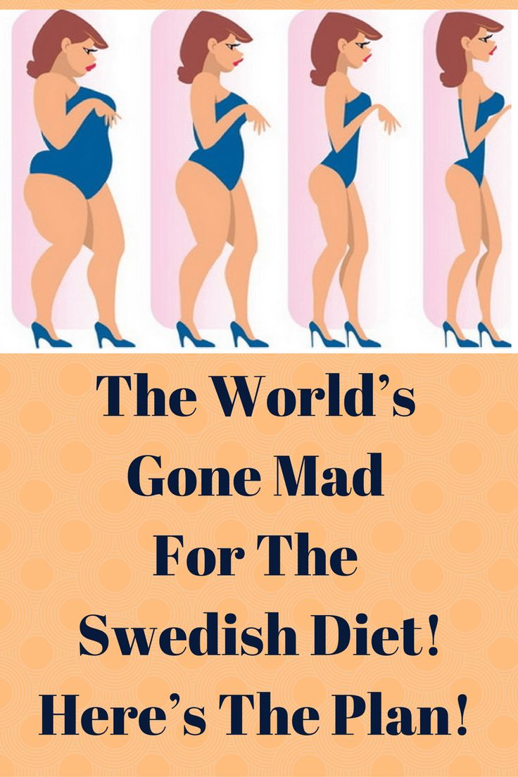 The World's Gone Mad For The Swedish Diet! Here's The Plan!
