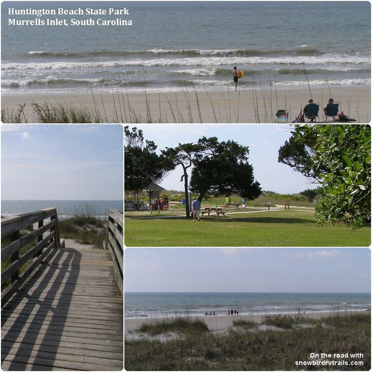 Camping At Huntington Beach State Park: 17 Best Images About Campgrounds On Pinterest