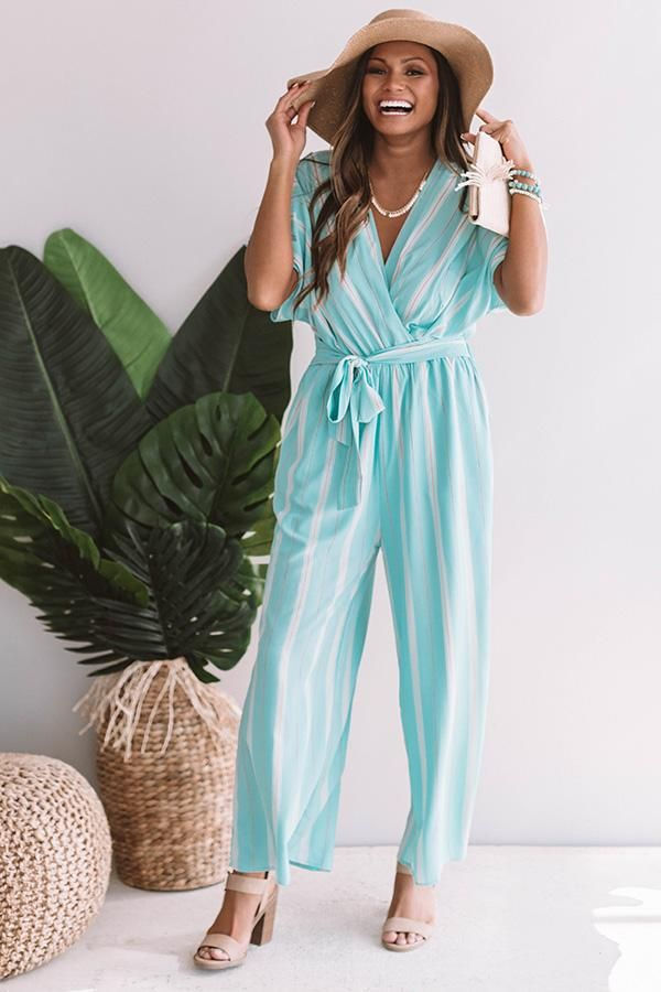 33194ea4d5a Chic In South Beach Jumpsuit • Impressions Online Boutique