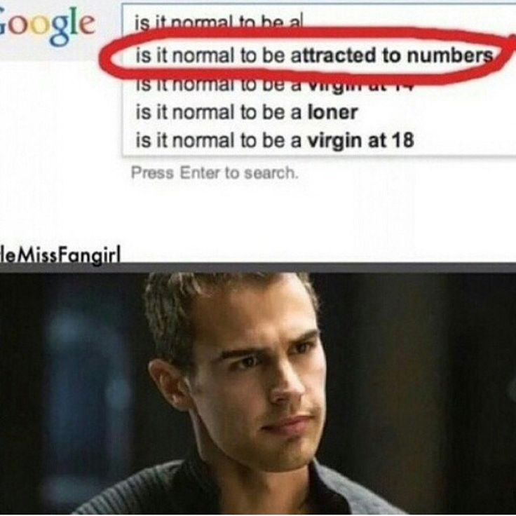 i don't understand this. i feel like i'm missing a fandom reference here. is it four? isn't that divergent?
