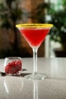 Ruth's Chris Steak House Pomegranate Martini.  (PRNewsFoto/Ruth's Chris Steak House)