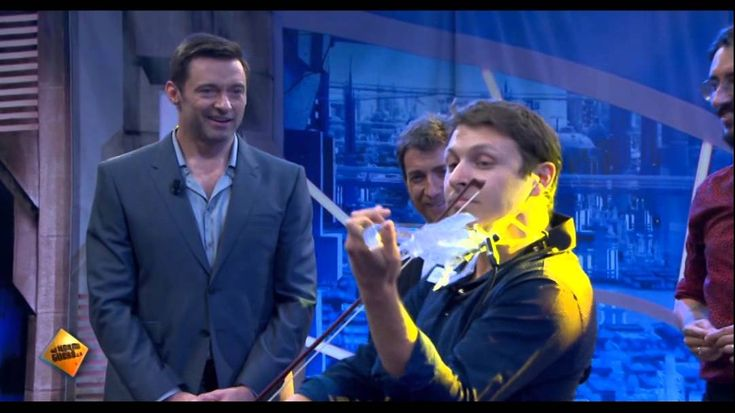 Laurent Bernadac was invited on the Spanish TV show 'El Hormiguero' to present the 3Dvarius, his electric and 3D printed violin, to Pablo Motos and his speci...