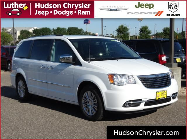 New 2015 Chrysler Town & Country Limited for sale in Hudson WI at Luther Hudson Chrysler dealership near Woodbury MN, Afton MN, Bayport MN and River Falls MN. Find a 2015 Chrysler Town & Country for sale in Wisconsin. Key features on this Town and Country Limited Van include the following: entertainment system, blind spot sensor, leather upholstery, power moonroof and much more. Van for sale in Wisconsin. Wisconsin Chrysler dealership. Chrysler van for sale in WI. >> Learn more.