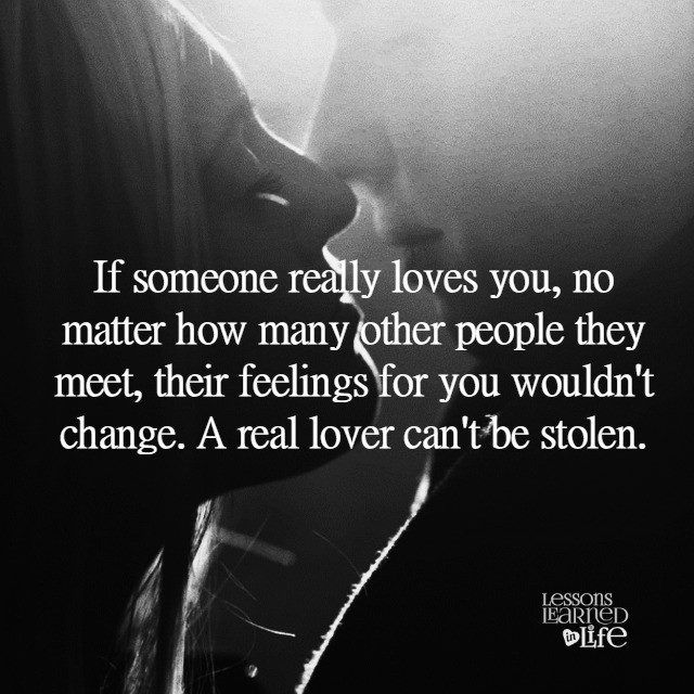 Lessons Learned in Life | A real lover.