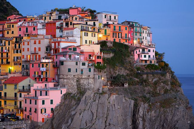 Cinque Terre. So colorful!