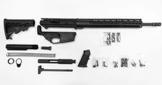 .308 Complete Rifle Kit With 80% Lower Receiver / Assembled - AR15 Parts, 80% Lowers, AR15 Stripped Uppers, Barrels