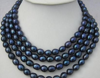 Cheap necklace chokers, Buy Quality pearl necklace directly from China black pearl necklace Suppliers: NOBLEST 68 INCH AAA 11-13MM SOUTH SEA BLACK PEARL NECKLACE choker