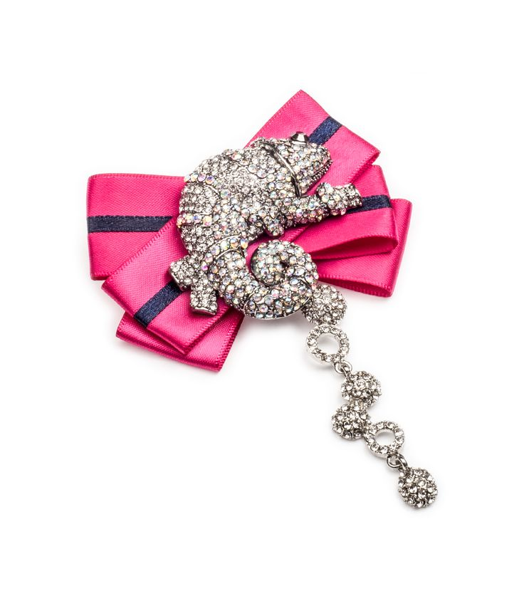 This chameleon on pink will rock your outfit, brooch by House of April