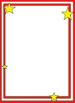 Christmas Star Borders and Frames Free until Dec. 2nd. Seller (me) is ...