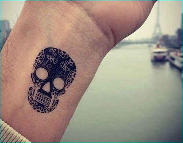 32 Skeleton Tattoo Designs for Boys