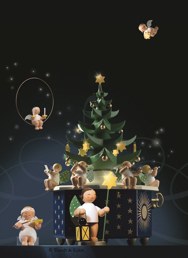 Wendt Und Kühn Weihnachtsbaum.Wendt Kühn Spieldose Tannenbaum Mit Der Melodie Stille Nacht