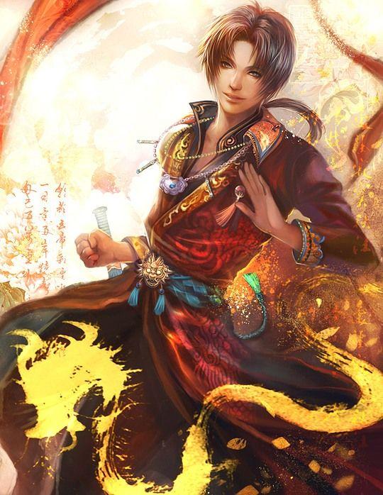Creative Comic Illustrations by Yang Fan He is beautiful!