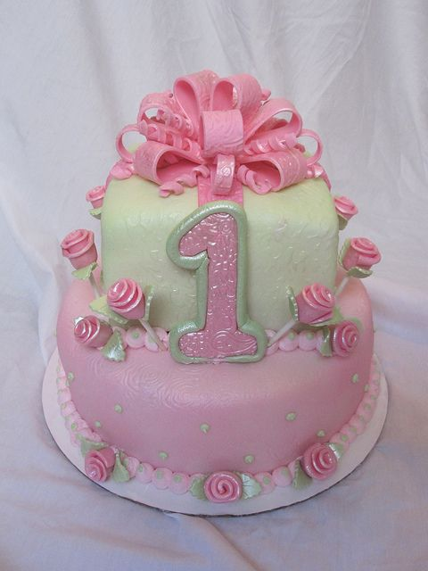 1st birthday party ideas for girls | 1st first birthday cake girl | Flickr - Photo Sharing!