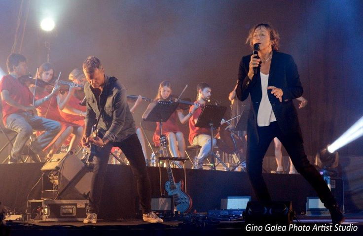 Gianna Nannini Malta Concert 2016   Official Photography by award winning photographer Gino Galea     http://www.ginogalea.com