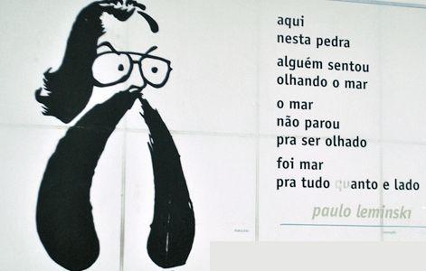Pedreira Paulo Leminski é parte do roteiro em homenagem ao poeta.