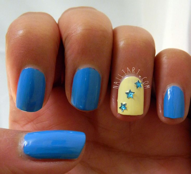 1190 best manicure images on pinterest blue nail designs blue blue yellow nail art pictures prinsesfo Choice Image