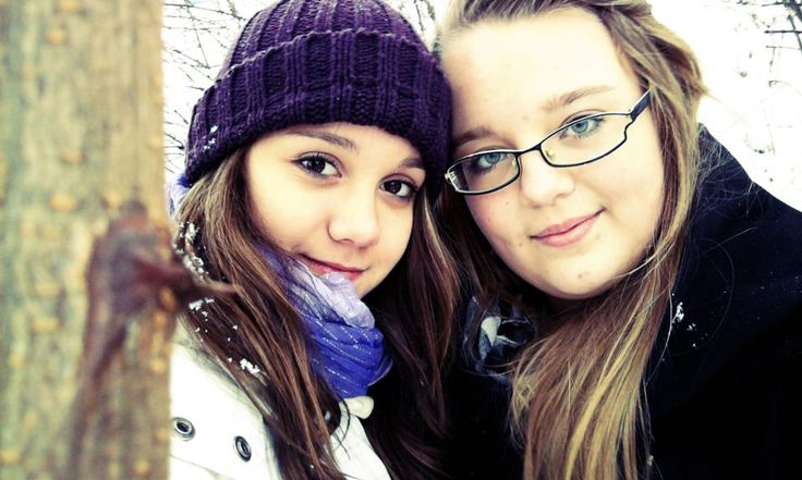 With my friend Anne ♥