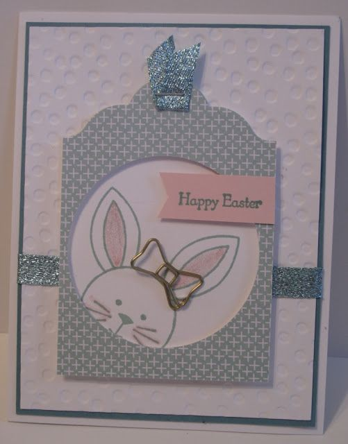 In My Craft Room: Stampin' Up! Easter Bunny card share
