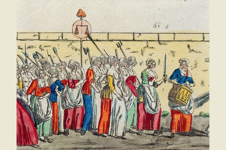 A History of the Women's March on Versailles Turning Point in the French Revolution