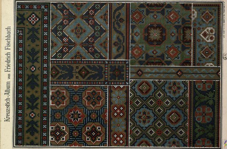 Gallery.ru / Фото #56 - старинные ковры и схемы для вышивки - SvetlanN