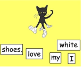 These activities are based on the book Pete The Cat by Eric Litwin.  The first page is a flow map to retell the story.  On the other pages the stud...
