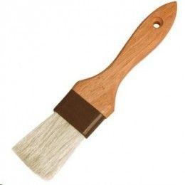 Pincel clásico con mango de madera y cerdas planas de 45 mm. http://www.ilvo.es/es/product/pinceles-cerdas-naturales