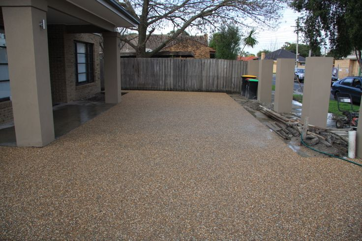 exposed aggregate driveway - Google Search