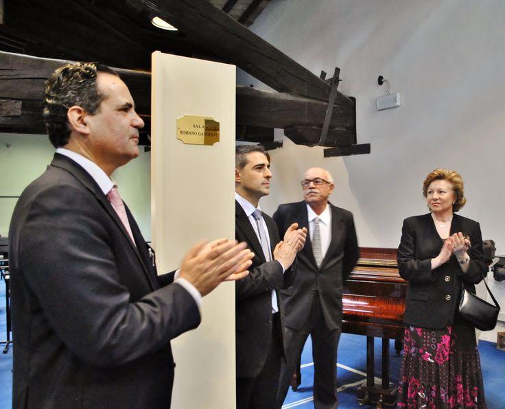 Intitolazione della Sala prove a Romano Gandolfi (Ph. Annalisa Andolina)